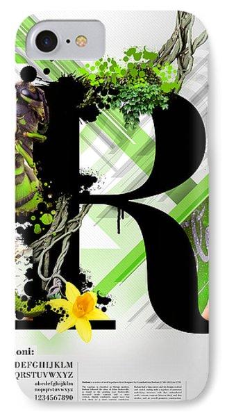Bodoni R IPhone Case