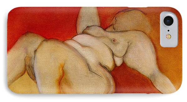 Body Of A Woman IPhone Case by Carolyn Weltman
