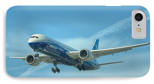 IPhone Case featuring the photograph Boeing 787-9 by Jeff Cook
