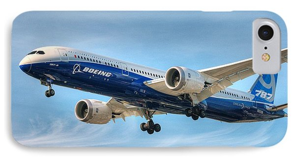 Boeing 787-9 Wispy IPhone Case