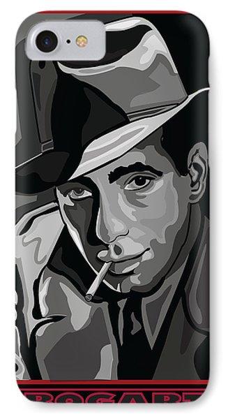 Bogart Phone Case by Larry Butterworth