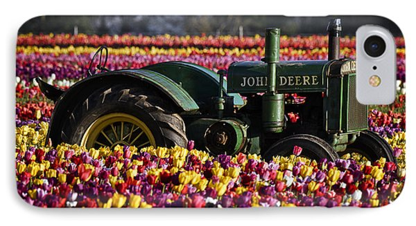 Bogged Down By Color IPhone Case by Wes and Dotty Weber