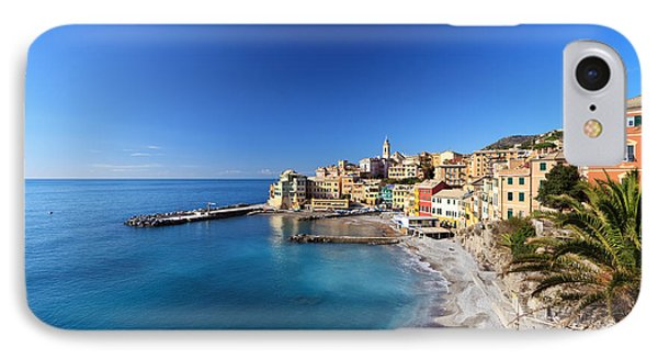 Bogliasco Village. Italy IPhone Case
