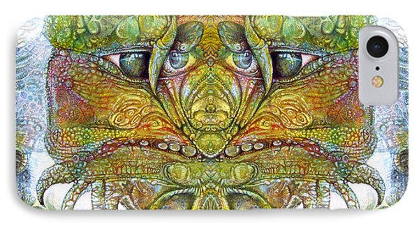 IPhone Case featuring the digital art Bogomil Variation 11 by Otto Rapp