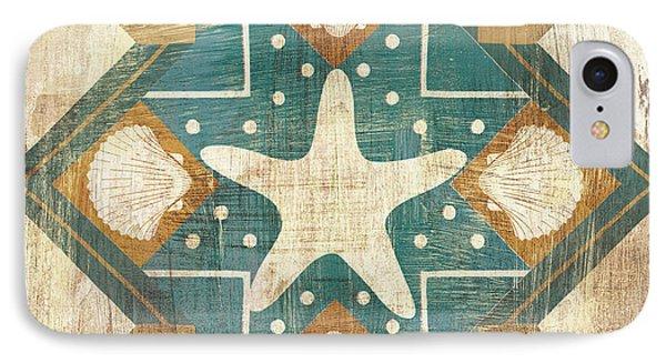 Bohemian Sea Tiles Iv IPhone Case by Cleonique Hilsaca