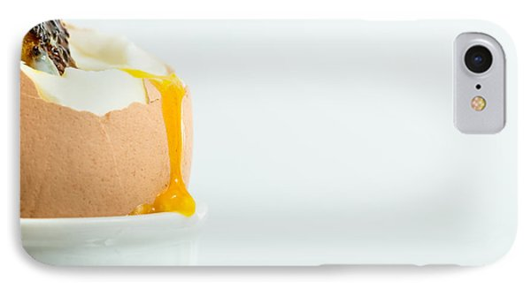 Boiled Egg With Toast. IPhone Case by Gary Gillette