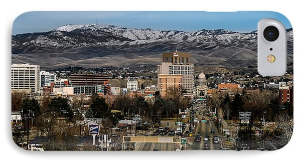 Boise Idaho IPhone Case by Robert Bales