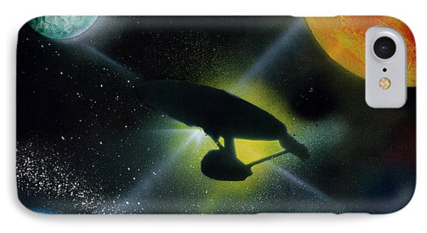 Boldly Go Phone Case by Thomas DOrsi