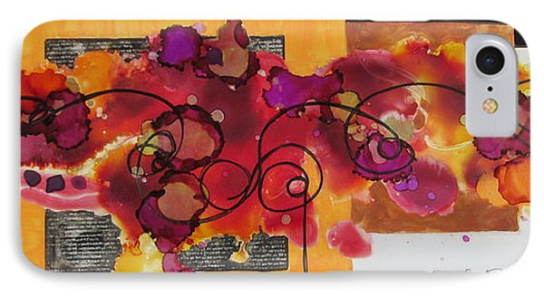 Boldness To Dream And Create IPhone Case by Patricia Mayhew Hamm