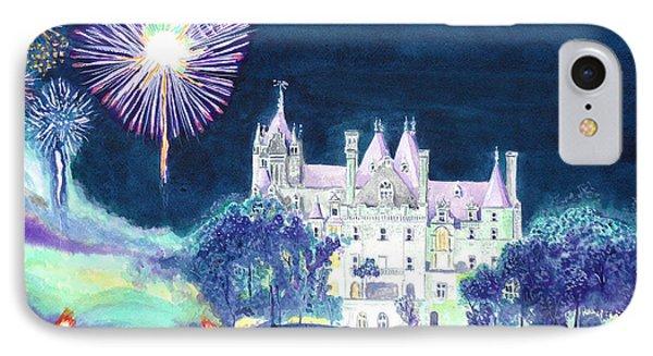Boldt Castle Fireworks Phone Case by Robert P Hedden