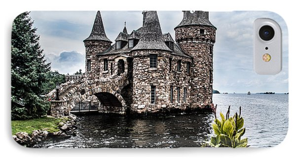 Boldt's Castle Tower IPhone Case by Debbie Green