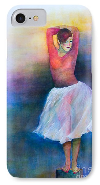 IPhone Case featuring the painting Bolero by Sherry Davis