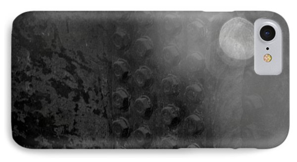 Bolts On The Trident In Black And White Phone Case by Rob Hans