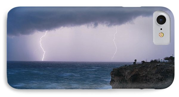 Bolts On The Water IPhone Case by Erhan OZBIYIK