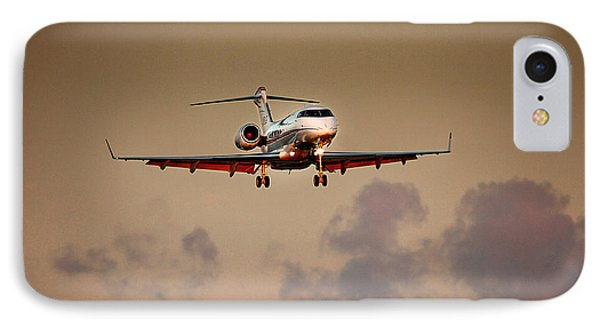 Bombardier Bd100 IPhone Case by James David Phenicie