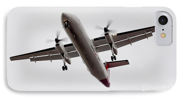 Bombardier Dhc 8 IPhone Case by Steven Ralser