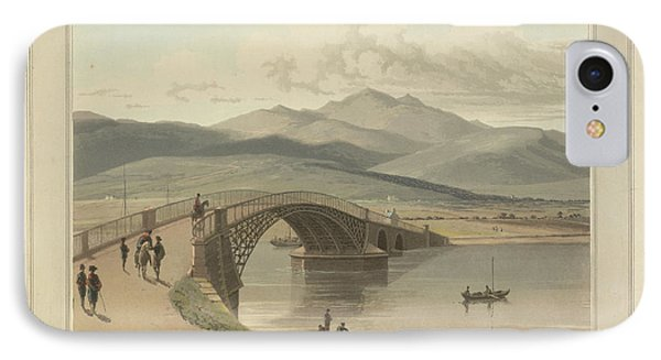 Bonar Bridge In The Kyles Of Sutherland IPhone Case by British Library