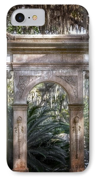 Bonaventure Cemetery IPhone Case by Mark Andrew Thomas