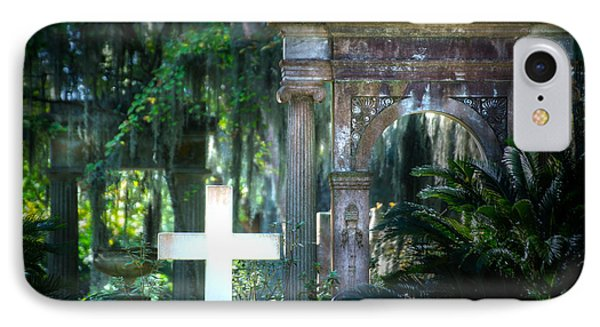 Bonaventure Memorials IPhone Case by Mark Andrew Thomas