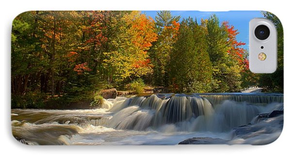 Bond Falls IPhone Case by John Absher