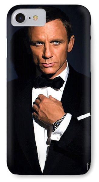 Bond - Portrait IPhone Case by Paul Tagliamonte