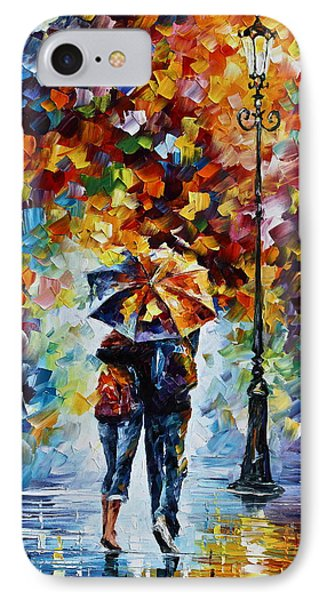 Bonded By Rain 2 Phone Case by Leonid Afremov