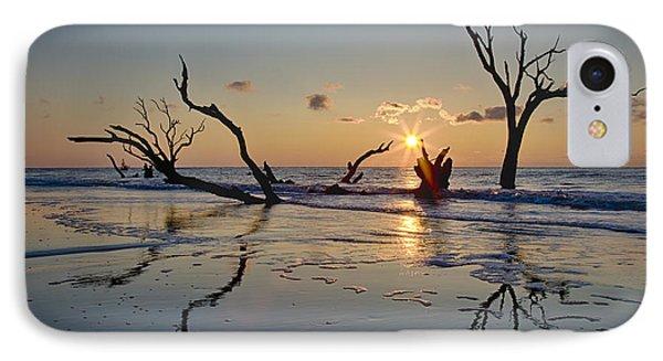 Boneyard Beach Sunrise IPhone Case