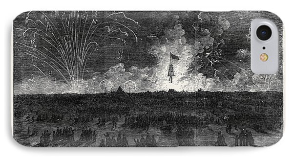 Bonfire And Fireworks On Blackheath IPhone Case by English School