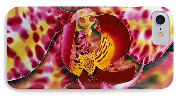 Bonnie Orchid IIi Phone Case by Daniel Jean-Baptiste