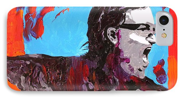 Bono Phone Case by Michael Greeley