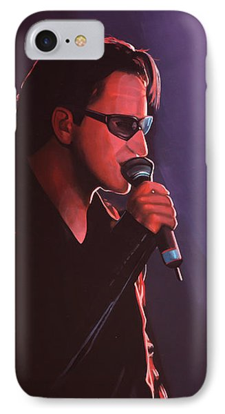 Bono U2 IPhone 7 Case by Paul Meijering