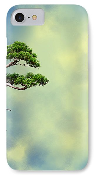 Bonsai Glow Phone Case by John Haldane