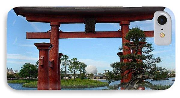IPhone Case featuring the photograph Bonsai Pavillion by David Nicholls