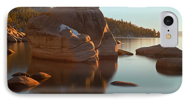IPhone Case featuring the photograph Bonsai Rock by Jonathan Nguyen