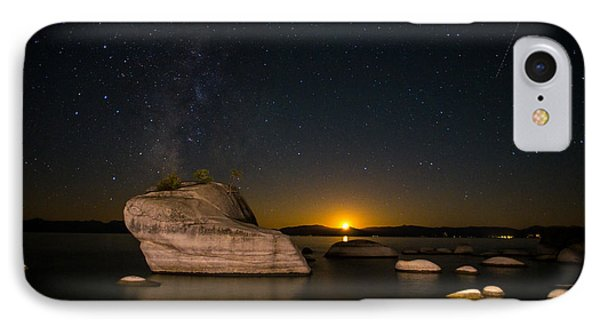 Bonsai Rock Lake Tahoe IPhone Case