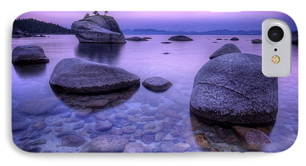 Bonsai Rock IPhone Case by Sean Foster