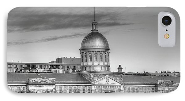 Bonsecours Market  Montreal, Quebec IPhone Case by David Chapman