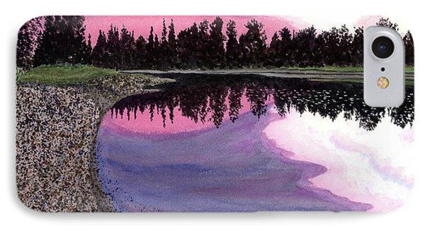 Bonsette's Sunset IPhone Case by Joel Deutsch