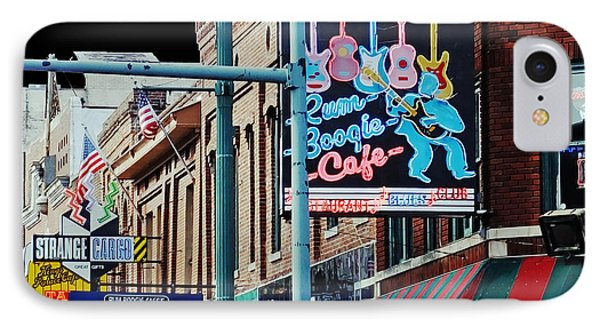 Boogie On Beale St Memphis Tn IPhone Case