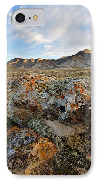 Bookcliffs 145 IPhone Case by Ray Mathis