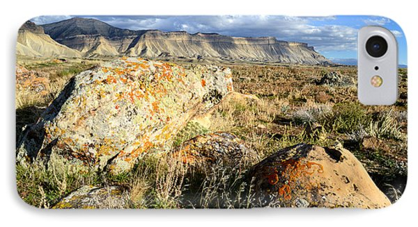 Bookcliffs 162 IPhone Case by Ray Mathis