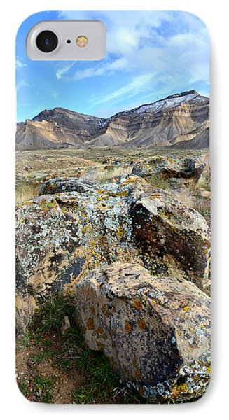 Bookcliffs 72 IPhone Case by Ray Mathis