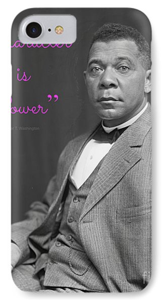 Booker T. Washington 1895 IPhone Case by Padre Art