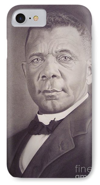 Booker T Washington IPhone Case