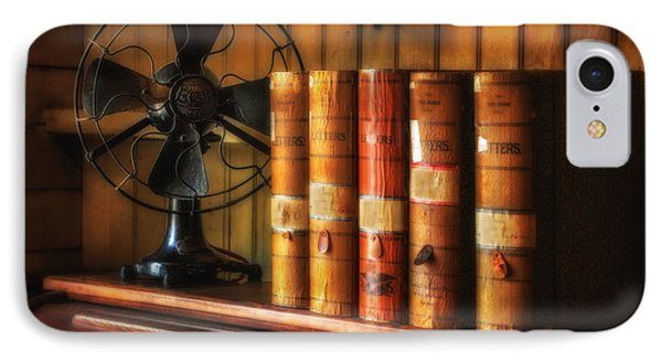 Books And Fan Phone Case by Jerry Fornarotto