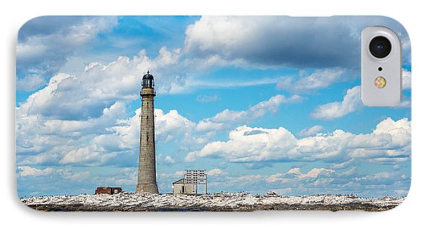 Boon Island Light Station IPhone Case by James  Meyer