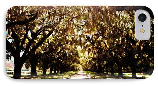 IPhone Case featuring the photograph Boone Plantation by Bill Howard