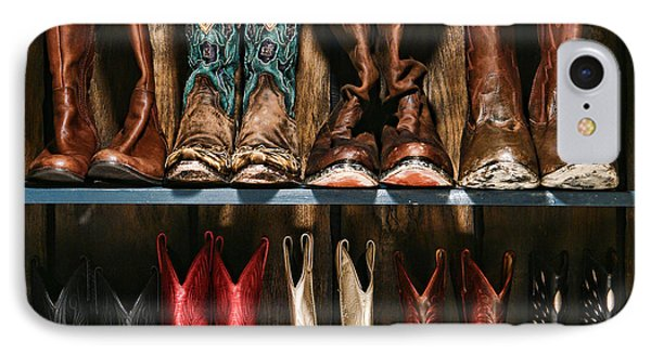 Boot Rack IPhone Case by Olivier Le Queinec