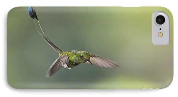 Booted Racket-tail Hummingbird IPhone Case