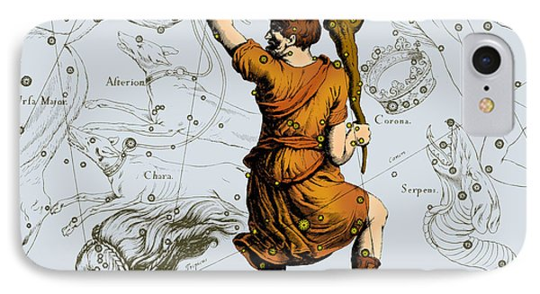 Bootes Constellation, 1687 Phone Case by Science Source
